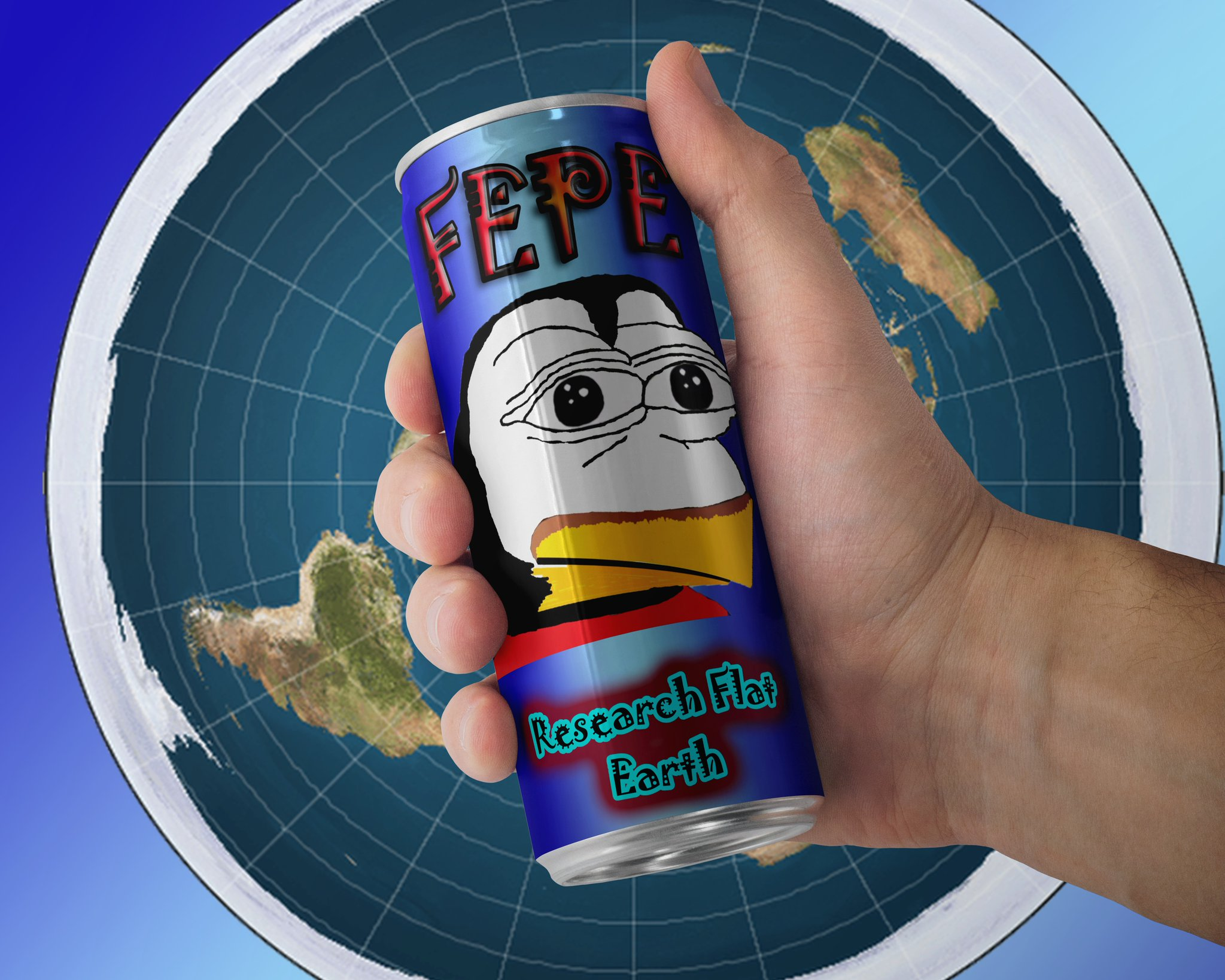 Flat Earth Shill Wall of Shame - Page 10 FEPEENERGYDRINK