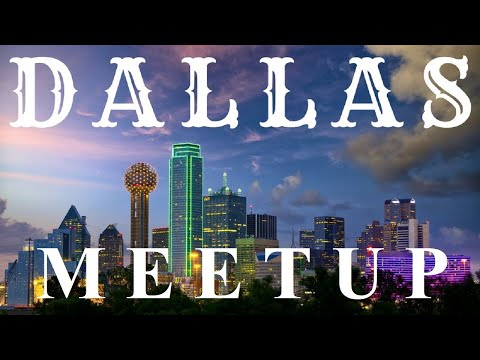 Flat Earth meetup Dallas with Nathan Thompson ✅
