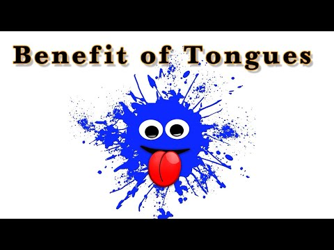 Benefit of Speaking in Tongues.