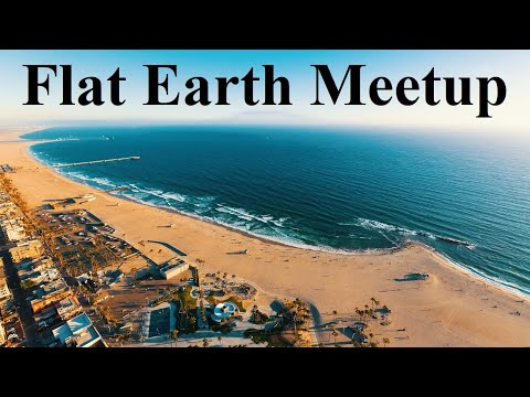 Flat Earth meetup Southern California August 9 with Nathan Thompson ✅