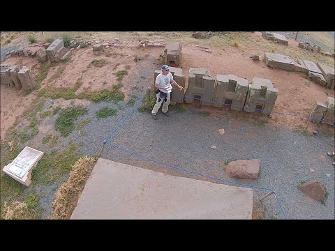 Quadcopter Exploration Of Megalithic Puma Punku In The Altiplano Of Bolivia