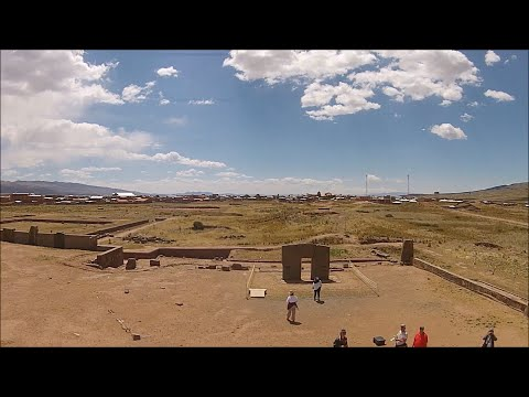 Quadcopter Exploration Of Ancient Tiwanaku In Bolivia