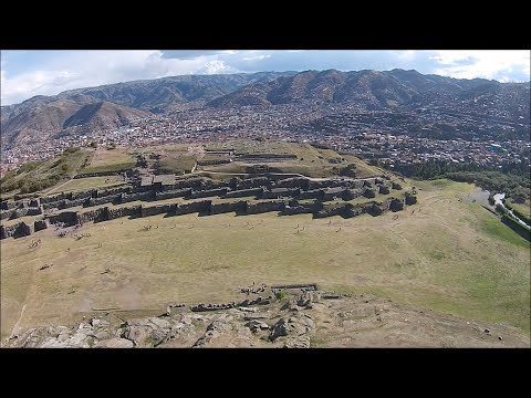 Quadcopter Exploration Of Megalithic Saqsaywaman In Peru