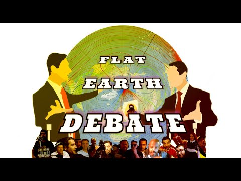 Flat Earth Debate 1250 Uncut & After Show