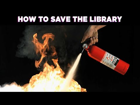 How to Save the Library – Questions For Corbett