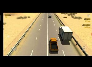 Traffic Racer – driving in the wrong line