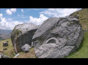 Quadcopter View Of Megalithic Killarumiyoq In The Highlands Of Peru