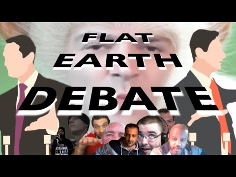 BRAND NEW Flat Earth Debate 1255 Uncut & After Show