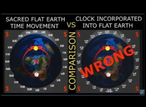 WHY WE SHOULDN'T BE MIXING THE FLAT EARTH MAP WITH THE CLOCK? Zetetic Flat Earth
