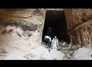 Ancient Megalithic San Simeon And Titus Tunnel In Turkey