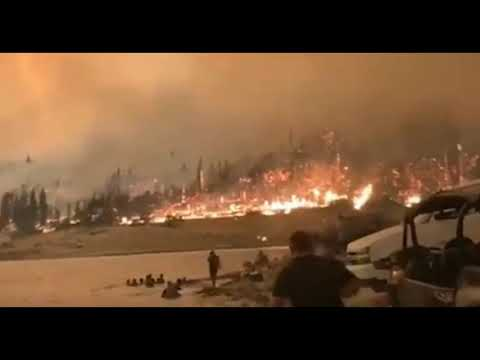 """""""Red Flag"""" Warning Declared As """"Historic"""" Wildfires Rage Across California"""