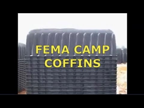 FEMA CAMP COFFINS – ARE WAITING FOR US ALREADY – Zetetic Flat Earth