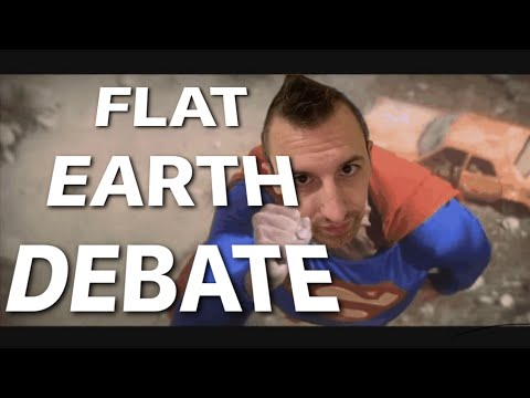 BRAND NEW Flat Earth Debate 1269 Uncut & After Show