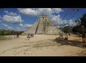 Exploring Ancient Chichen Itza In The Yucatan Of Mexico