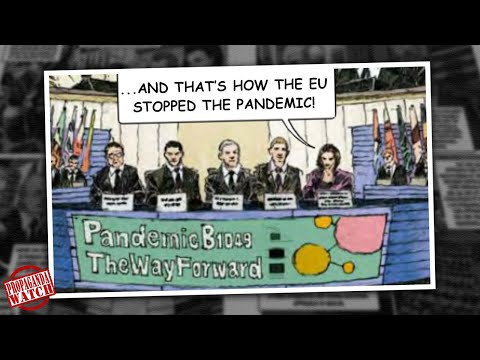 How The EU Stopped The Pandemic (The Comic) – #PropagandaWatch