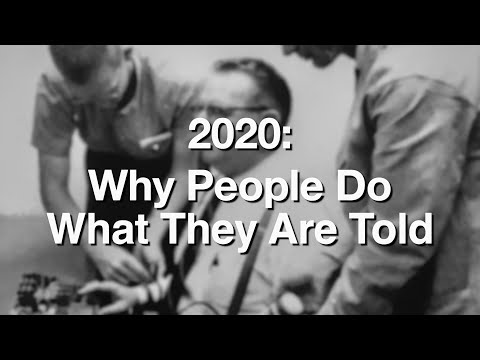2020 – Why people do what they are told ✅