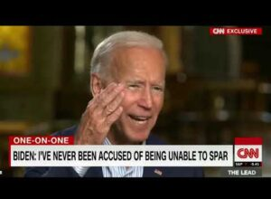 JOE BIDEN – A CREEPY OLD RACIST MAN WITH DEMENTIA. If he becomes the president I quit!