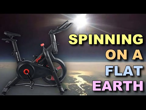 Spinning on a flat earth.