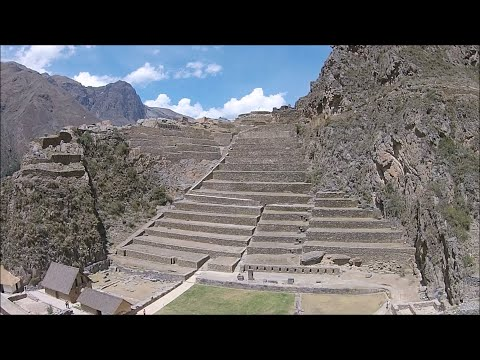 Quadcopter View Of Many Ancient Megalithic Sites In Peru And Bolivia