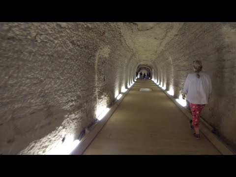 Thorough Exploration Of The Tunnels At The Serapeum At Saqqara In Egypt
