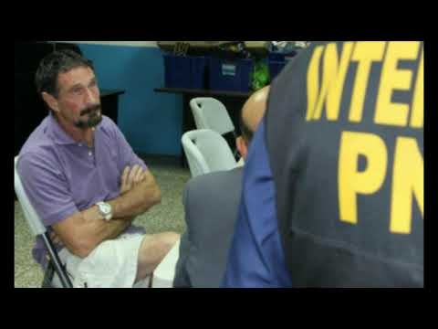 John McAfee Indicted for Tax Evasion, Arrested In Spain and Awaits Extradition to United States