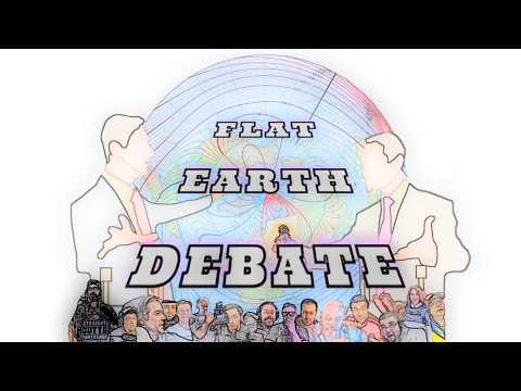 Brand New Flat Earth Debate 1290 Uncut & After Show