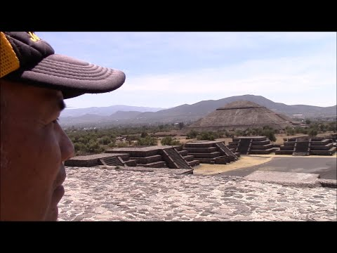 Mysterious Ancient Pyramids Of Teotihuacan Near Mexico City