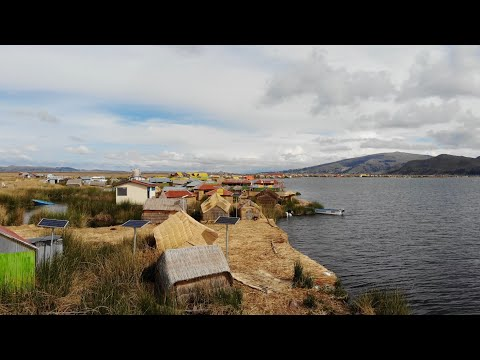 The Mysterious Uros Floating Islands Of Lake Titicaca In Peru