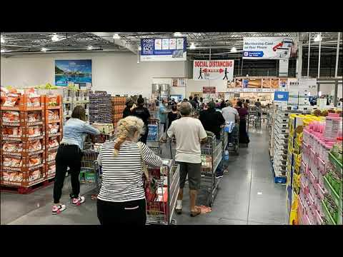 Panic Buying Wave 2.0! Shoppers Empty Shelves of Toilet Paper, Food and More!