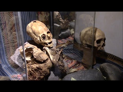 American Doctor And Nurse Examine A Very Strange Ancient Mummy In Peru