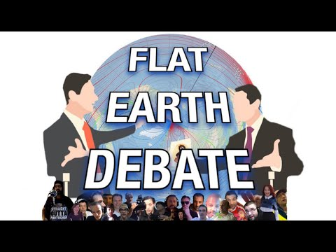 Flat Earth Debate 1296 LIVE