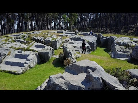"""Ancient Megalithic """"Little Qenqo"""" Above Cusco In Peru"""
