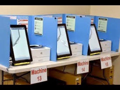 Voting Machines Are DOWN In Multiple States!