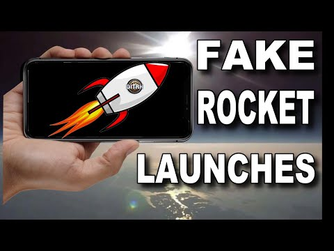 How to FAKE a rocket launch on Flat Earth