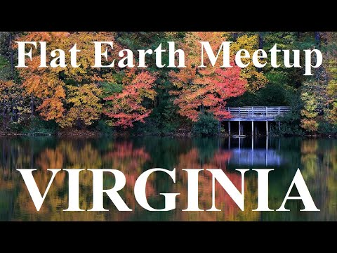 Flat Earth meetup with Nathan Thompson Yorktown Virginia  Nov 7 ✅