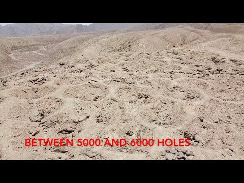 """Quadcopter Exploration Of The Mysterious """"Band of Holes"""" In Peru"""