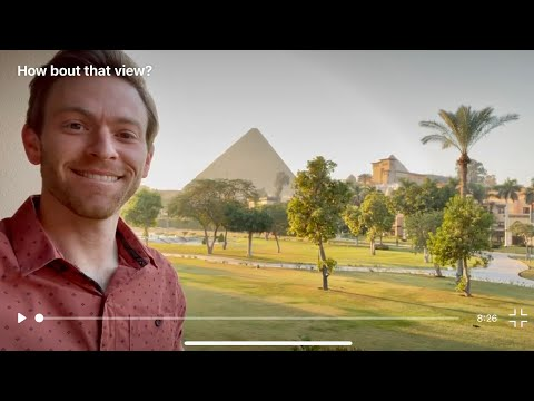 Jimmy of Bright Insight is in Giza, EGYPT!!