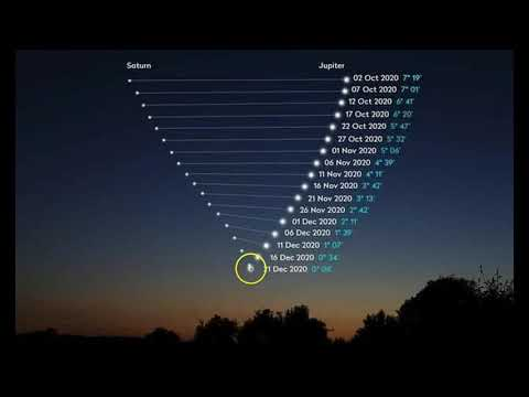 'Christmas Star' Will Appear On the 21st for First Time in 800 Years. Here's How to See It!