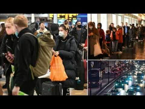 """""""Trying To Get The Hell Out"""" – Emergency Lockdown In London Triggers Mass Exodus"""