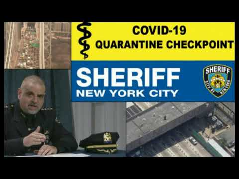 NYC Orders Sheriffs to Track Down Travelers Defying Quarantine Order