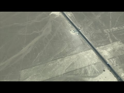 Flying Over The Nazca Lines From The Ica Airport In Peru