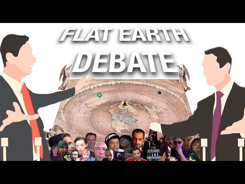 Brand New Flat Earth Debate 1316 Uncut & After Show