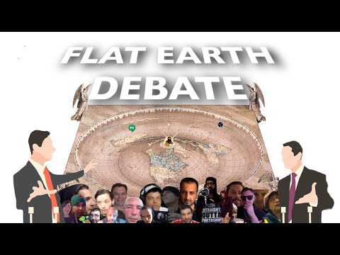 Flat Earth Debate 1317 Uncut & After Show