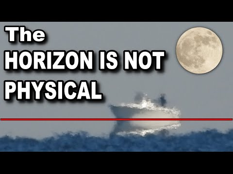 The HORIZON is NOT a PHYSICAL Place on FLAT EARTH