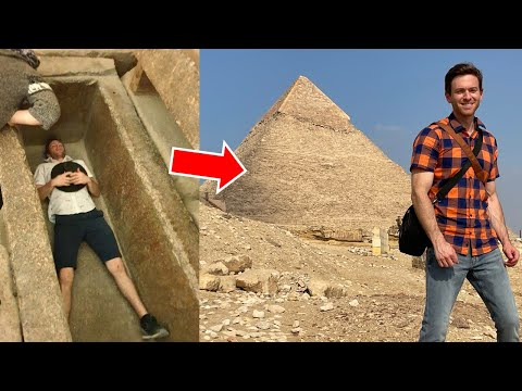VIDEO INSIDE the 2nd LARGEST Pyramid of Giza, Egypt (2020 Tour) – Khafre's Pyramid was NOT a Tomb…