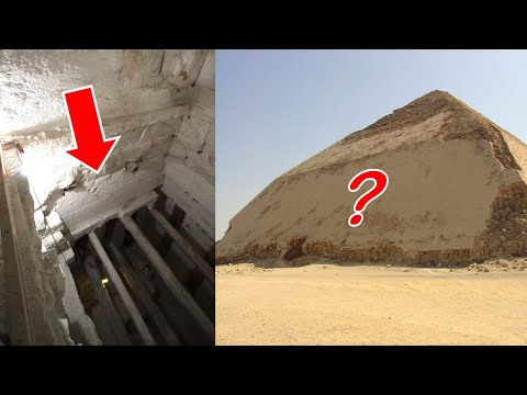 NEVER Before Seen Video INSIDE The BENT Pyramid of Egypt! Lost Civilizations & the Ancient Egyptians