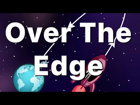 Over The Edge Of Earth Curve