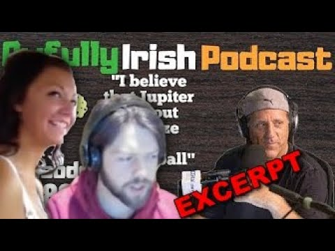 Awfully Irish Podcast. EXCERPT.- Flat Earth