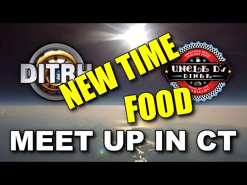 Meet up in CT. TIME CHANGE + FOOD