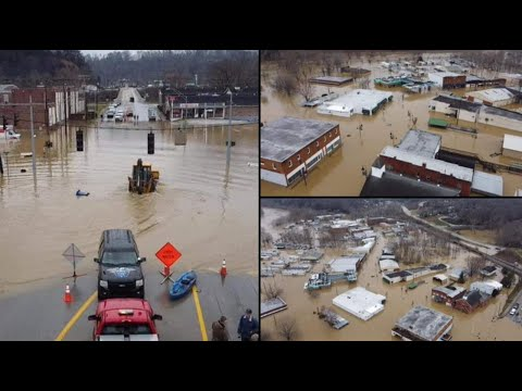 """State of Emergency In Kentucky! """"Major Flooding"""" Submerges Towns, Including Mine, Evacuation Ordered"""